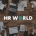 The Hr World logo icon