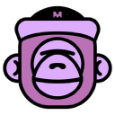 The Masked Gorilla logo icon
