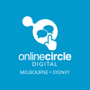 Online Circle Digital logo icon