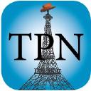 Theparisnews logo icon