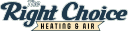 The Right Choice Heating and Air Inc logo