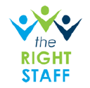 THE RIGHT STAFF logo