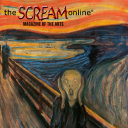 The Scream Online logo icon