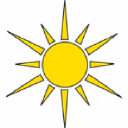 Solar Panel logo icon