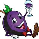 The Tipsy Grape logo icon