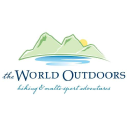 The World Outdoors logo icon