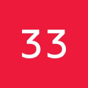 Thirty Three logo icon