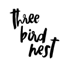 Three Bird Nest logo icon