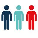 Three People logo icon