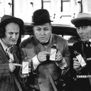 The Three Stooges logo icon