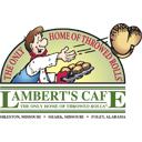 Lambert's Cafe Company Logo