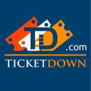 Ticket Down logo icon
