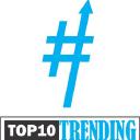 Top 10 Trending logo icon