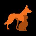 Totally Raw Dog Food logo icon