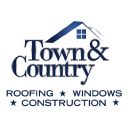 Town & Country Roofing Company logo