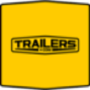 Trailers logo icon