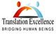 Translation Excellence logo icon