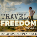 Travel Freedom Podcast logo icon