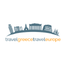 Travel Greece Travel Europe logo icon