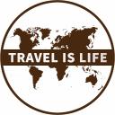 Travel Is Life logo icon