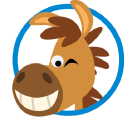 Travel Pony logo icon