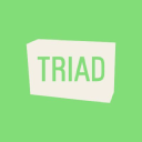 Triad logo icon