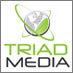 Triad Media logo icon
