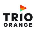 Trio Orange logo icon