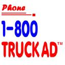 1 (800) Truckad� logo icon