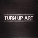 TURN UP ART logo
