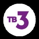 телеканал тв 3 logo icon