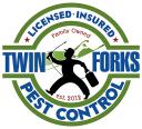 Twin Forks Pest Control logo