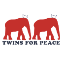 Twins For Peace logo icon
