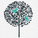 Two Birds Spirits logo icon