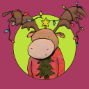 Ugly Christmas Sweater logo icon