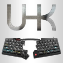 Ultimate Hacking Keyboard logo icon