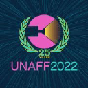 UNAFF (United Nations Association Film Festival) logo