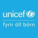 UNICEF Iceland logo