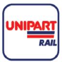 Unipart Rail logo icon