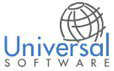Universal Software logo icon