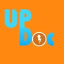 Up Doc Media logo icon