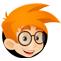 Upload Boy logo icon