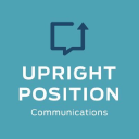 Upright  Position Communications logo icon