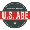 U.S. ABE Work Clothing, Boot & Uniform logo