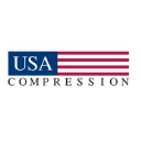 USA Compression logo