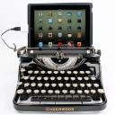 Usb Typewriter logo icon