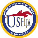 United States Hunter Jumper Association logo icon