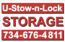 U-Stow-N-Lock Storage logo