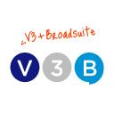 V3 B logo icon