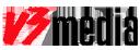 V3 Media logo icon